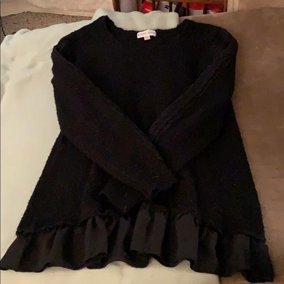 Knox Rose Sweaters - Black long sleeve sweater